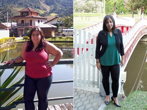 Para conseguir engravidar, jovem muda dieta e perde mais de 35 kg