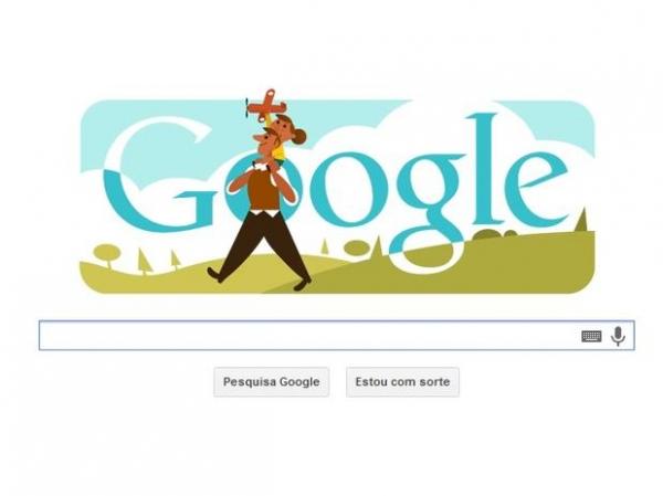 Dia dos Pais no Brasil é celebrado pelo Google com doodle