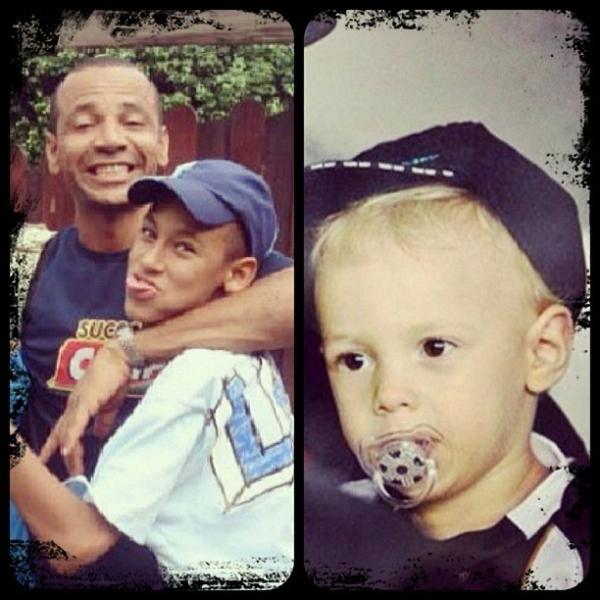 Neymar usa rede social para agradecer a pai e filho pelo Dia dos Pais