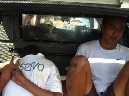 Polícia apreende 2.927 pedras de crack e dois indivíduos em favela