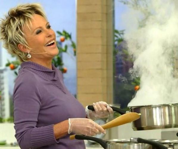 Ana Maria Braga afirma que faltava estrutura para cozinhar na Record