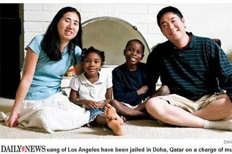 Casal dos EUA é preso no Qatar sob acusação de matar a filha adotiva de fome