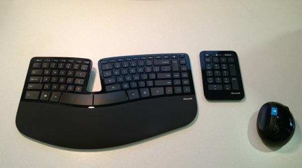 Microsoft lança teclado e mouse ergonômicos voltados para o Windows 8