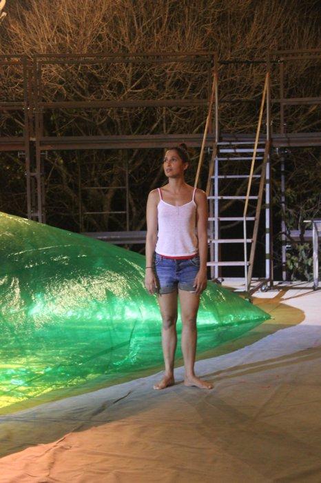 Fotos exclusivas do primeiro ensaio de Camila Pitanga na Serra da Capivara