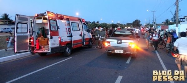 Idoso é atropelado e motorista foge sem prestar socorro em Parnaíba