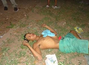 Jovem sofre tentativa de linchamento após realizar assalto
