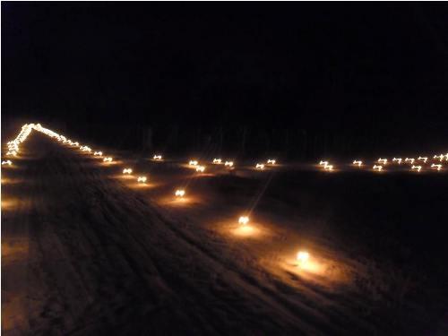 Moradores de Boqueirão do Piauí acendem milhares de velas em protesto contra Eletrobrás