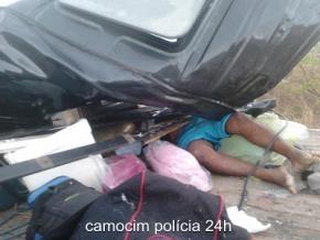 Quatro pessoas que vinham para Luís Correia morrem após colisão com veículo