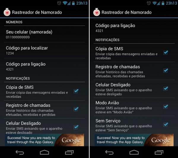 Google bloqueia app
