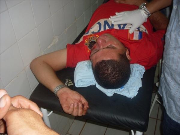 Assalto termina com jovem espancado e levado para o HUT inconsciente