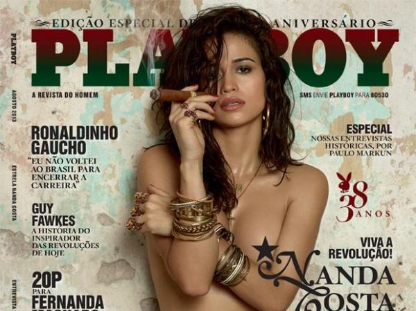 ?Playboy? de Nanda Costa teve uso de Photoshop na região íntima