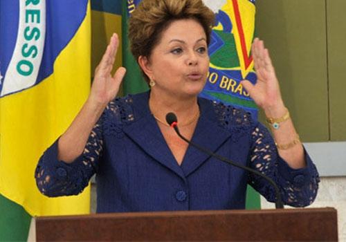 Avaliação positiva de Dilma Rousseff sobe para 38%