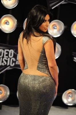 Bumbum de Kim Kardashian não é real, assegura revista americana