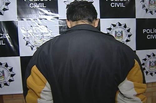 Padrasto é preso suspeito de abusar sexualmente de duas crianças no RS