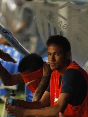 Com Neymar por 30 minutos, Barcelona vence Málaga com gol brasileiro