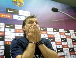 Martino despista sobre Neymar no time titular do Barça: