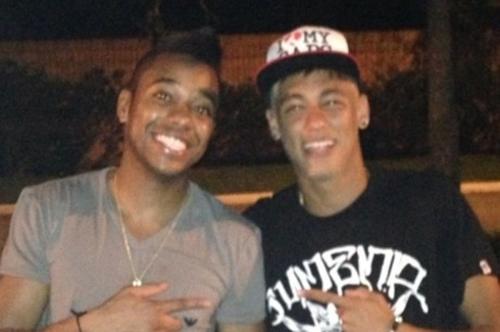 Liga dos Campeões terá duelo entre os amigos Neymar e Robinho; confira - Imagem 1