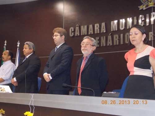 Adalberto Pereira recebe título de cidadão Teresinense