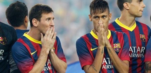 Messi quer revisão salarial após chegada de Neymar ao Barça, diz jornal