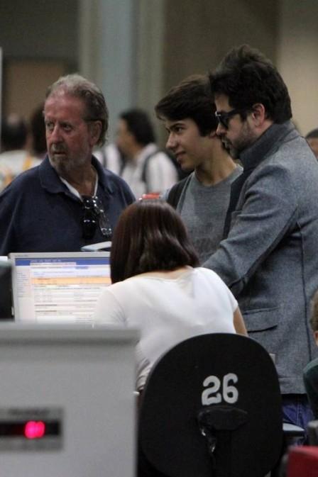 Murilo Benício perde o pai oito meses depois da morte de sua mãe