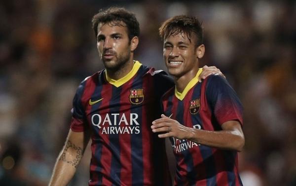 Com primeiro gol de Neymar, Barça atropela Tailândia em jogo de 8 gols