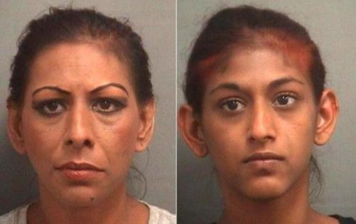 Mãe e filha são presas nos EUA após oferecerem um