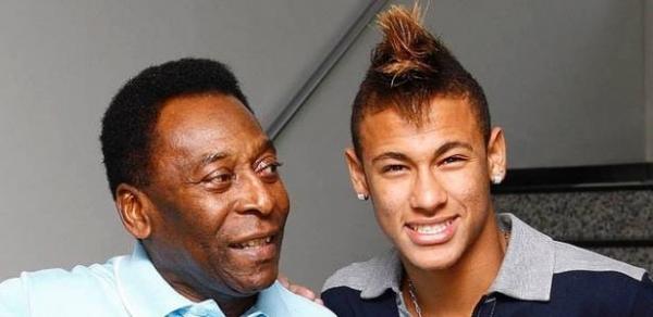 Pelé descarta Neymar como o segundo maior da história do Santos
