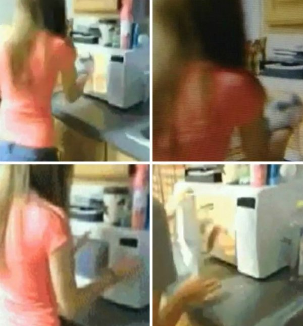 Adolescente coloca gato no micro-ondas e vídeo gera revolta na web