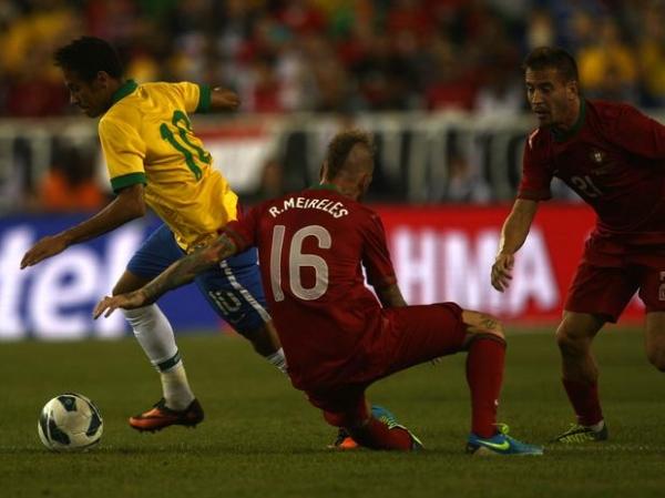 Em jogo quente, Brasil reage e vence Portugal de virada em Boston, nos Estados Unidos