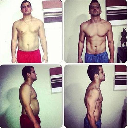 Irmão de Erick Silva perde 23kg em dois meses antes de estreia no Jungle Fight
