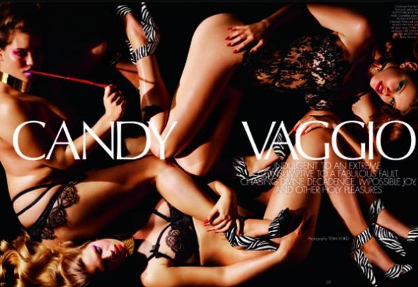 Tom Ford fotografa campanha de lingerie com modelos plus size