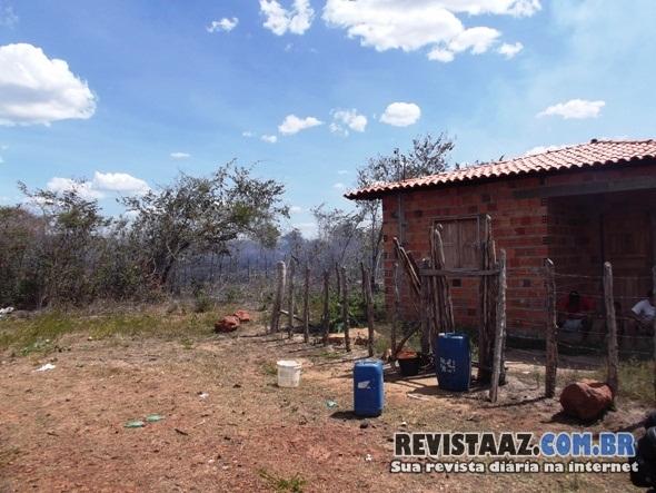Incêndio atinge residências e causa prejuízo a moradores no interior do Piauí