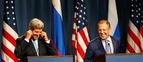 Contrários, EUA e Rússia negociam hoje fim de armas químicas sírias