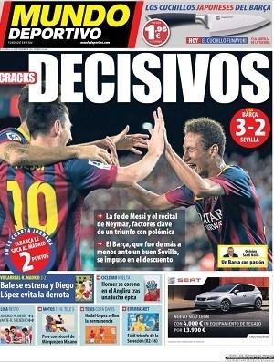Imprensa catalã elogia atuação de Neymar: