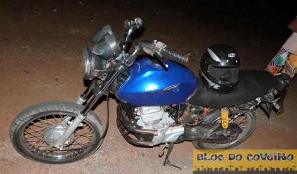 Três jovens ficam feridos após acidente com motocicletas em Cocal