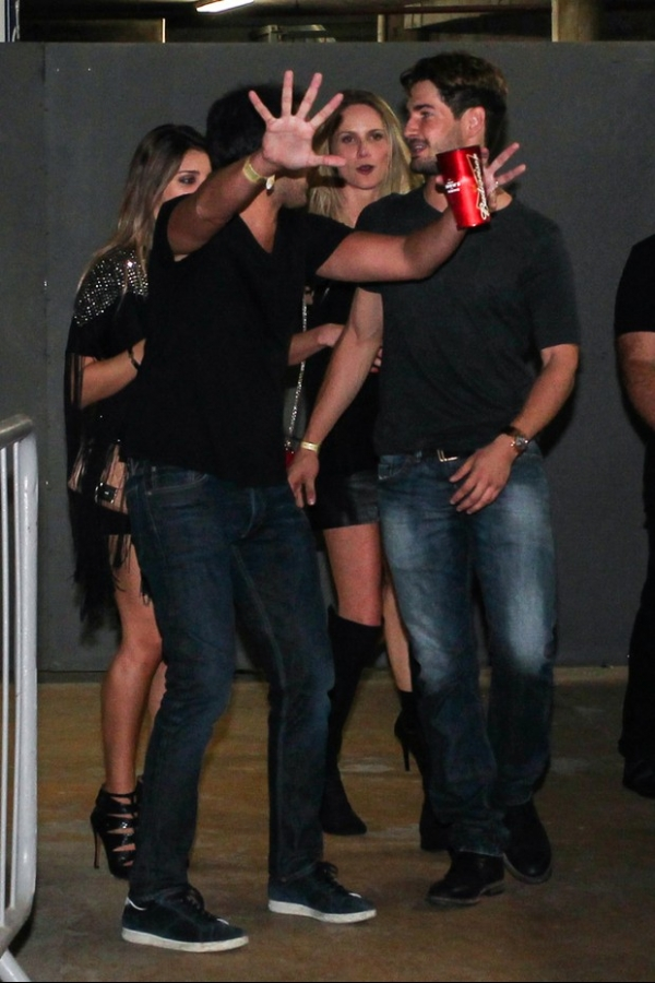 Alexandre Pato deixa show de Beyoncé com nova namorada