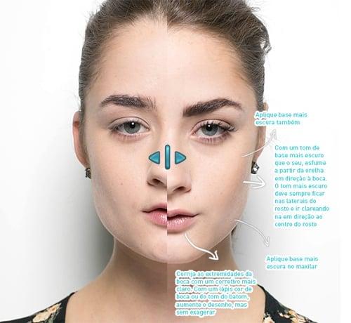 Maquiador ensina truques para afinar rosto, levantar olhar e aumentar boca
