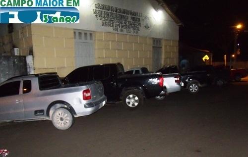 Polícia apreende 12 carros durante operação em Campo Maior