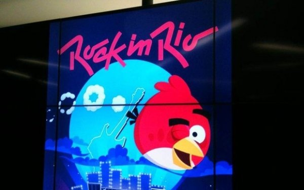 Angry Birds Friends ganhará tema do Rock in Rio e terá torneio mundial