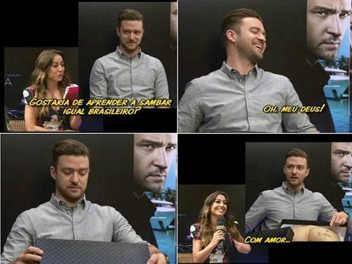Sabrina Sato vira piada internacional ao doar bumbum à Justin Timberlake - Imagem 1