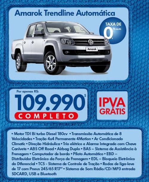 Feirão Volkswagen no Extra tem plantão de vendas especial no sábado e domingo