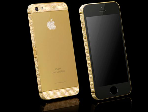 iPhone 5S, top da Apple, ganha versão de luxo banhada em ouro e platina