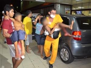 Três crianças ficam feridas após tiroteio em praça de João Pessoa