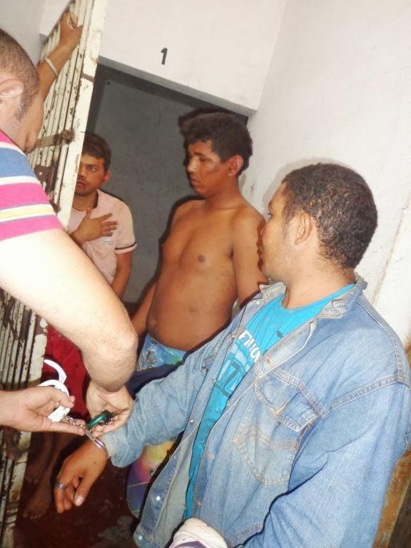 Polícia prende três suspeitos após vários assaltos no Piauí