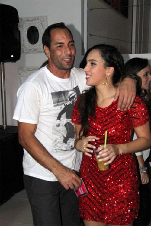 Sob cuidados do pai, filha de Edmundo prepara estreia como atriz em palcos