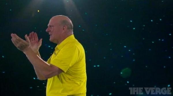 Steve Ballmer canta, chora e é ovacionado em evento da Microsoft; vídeo