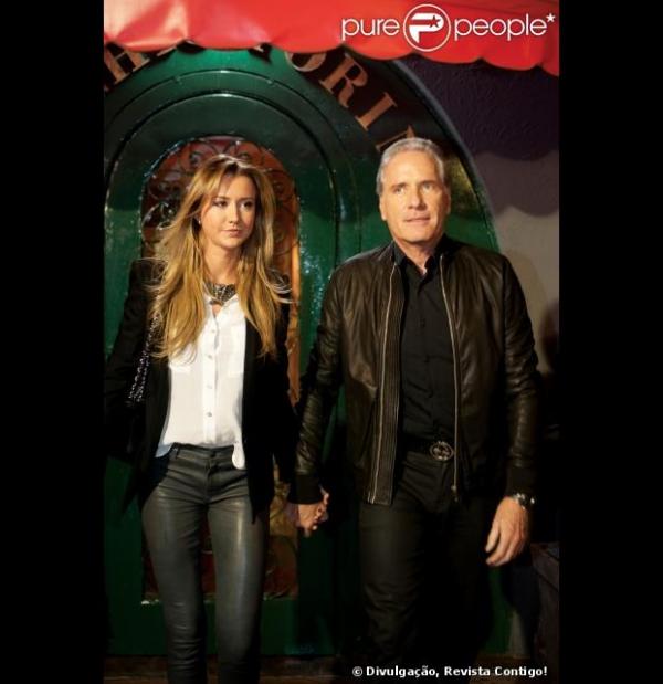Ticiane Pinheiro foi às lágrimas com foto de Roberto Justus com a atual namorada
