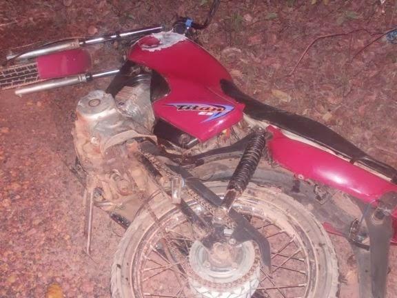 Colisão de moto com veículo deixa saldo de um morto