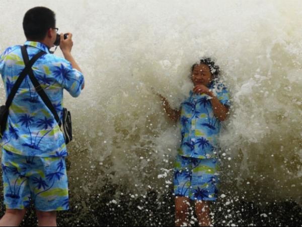 Mais de 70 pessoas desaparecem na China na passagem do tufão Wutip