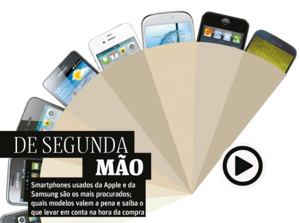 Novos iPhones esquentam mercado de smartphones usados